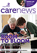 Front page of Care News Summer 2015
